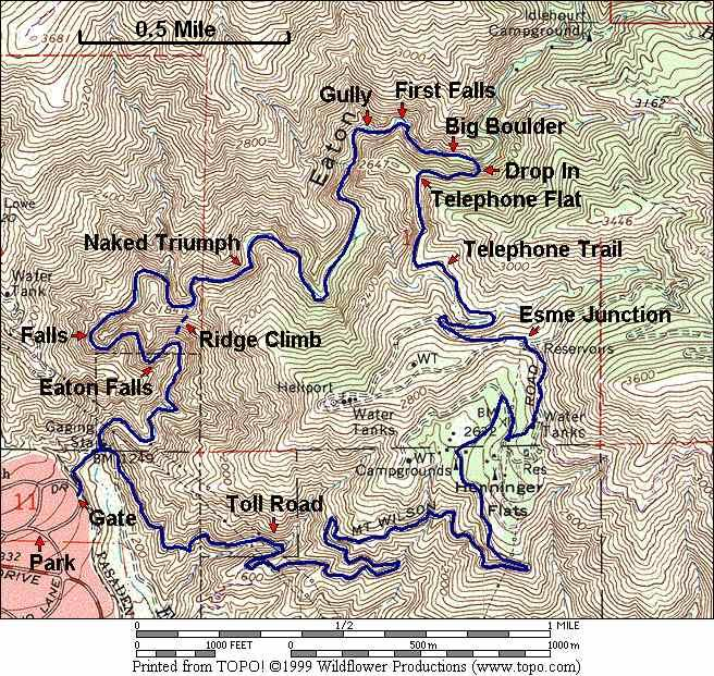 Eaton Canyon Index Page